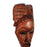 "🔥ONE DAY SALE! 12"" African Wood Mask in Brown - Laura Baby and Company"