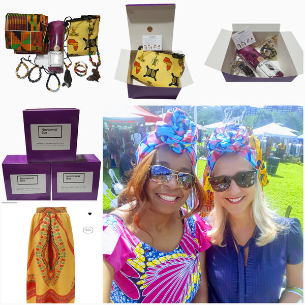 African Inspired Jewelry, Clothing and Beauty Subscription Box - Laura Baby and Company