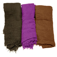 3 PCS Women Soft Scarf Shawl Long Scarf, Scarf and Wrap, Big Head Scarf - Laura Baby and Company