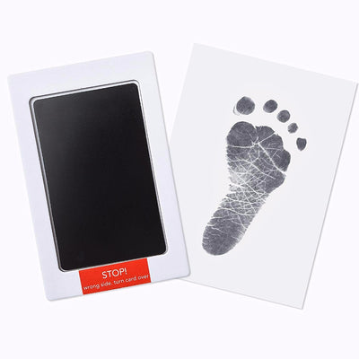 2 Pack Black and Blue Clean-Touch Baby Safe Ink Pads Make Baby's Hand & Footprint (Clean-Touch Baby Safe Inkpad) - Laura Baby and Company  aaa