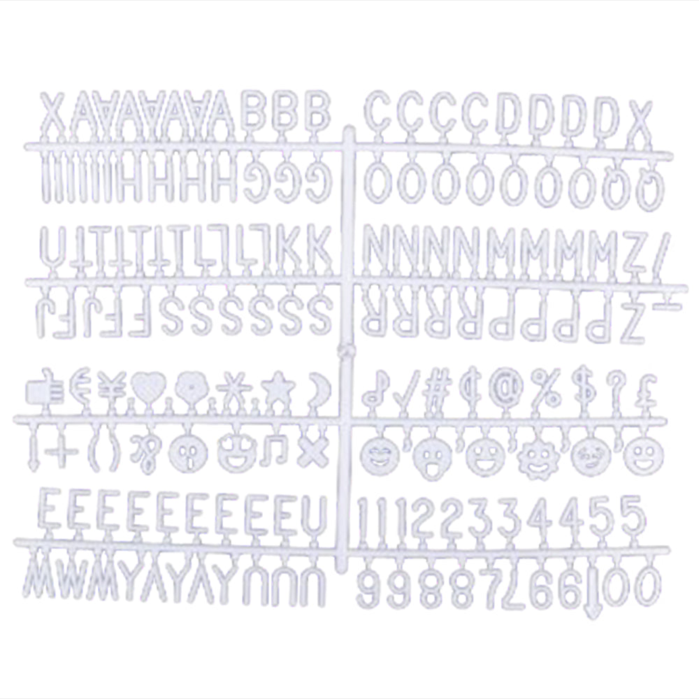 Felt Letter Board Letters - 1"
