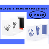 2 Pack Black and Blue Clean-Touch Baby Safe Ink Pads Make Baby's Hand & Footprint (Clean-Touch Baby Safe Inkpad) - Laura Baby and Company