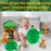 NOVARENA Jungle Friends Talking Plush Animals 1- 7 Year Old up Boy Girl Baby Realistic Sound Stuffed Toys Babies Toddler Children Lion Elephant Giraffe Tiger Monkey (6 Pc Premium Jungle Set) - Laura Baby and Company