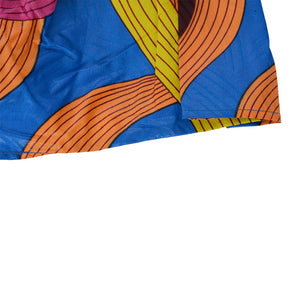 African Dutch Ankara Print Full Circle Skirt for Women Casual Maxi Flared Pleated Floral Dashiki Multi Plus Size A Line High Waist Ball Gown (S-XL) - Laura Baby and Company