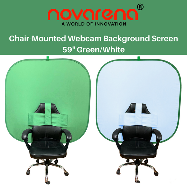 NOVARENA 2-in-1 Work from Home Video Conferencing Dual-Sided 59
