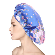 Large Satin Silk Bonnet Sleep Cap – Luxurious Fabric,Premium Elastic Band- Satin Silk Sleep Cap Beanie Slap Hat – Gifts for Women - Laura Baby and Company