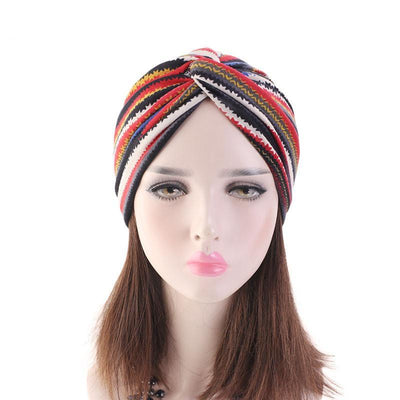 ONE DAY SALE PRE-TIED Pack of 9 Women African Turban with Rose Flower Knot | Pre-Tied Bonnet Beanie Cap Headwrap| Stretch Jersey Solid Colors and Floral Knit Wraps Scarf Turbans Ties | Lightweight Breathable Head Wraps | Headbands | Bandana - Laura Baby and Company aaa