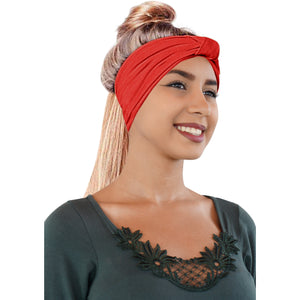 ONE DAY SALE Novarena Original Multi Style Headband for Women Yoga Fashion Workout Running Athletic Travel. Wear Wide Turban Knotted + More - Laura Baby and Company