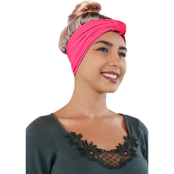 ONE DAY SALE Novarena Original Multi Style Headband for Women Yoga Fashion Workout Running Athletic Travel. Wear Wide Turban Knotted + More