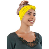 Novarena Original Multi Style Headband for Women Yoga Fashion Workout Running Athletic Travel. Wear Wide Turban Knotted + More - Laura Baby and Company