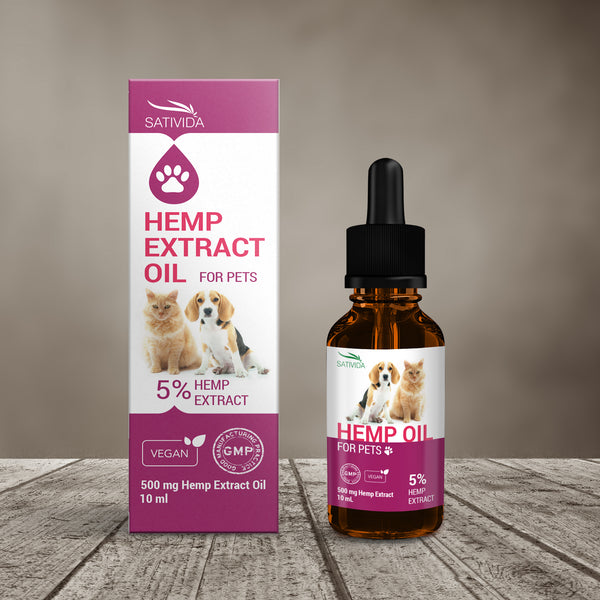 CBD Pet Oil, 5%, 10ml (500mg CBD)