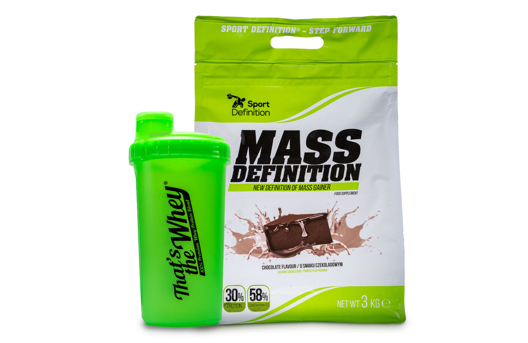 Mass Definition 1:2 - 3000g - oporavak i snaga + FREE SHAKER