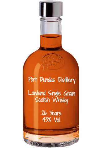 Port Dundas Distillery, Lowland Single Grain Scotch Whisky, 24 Years