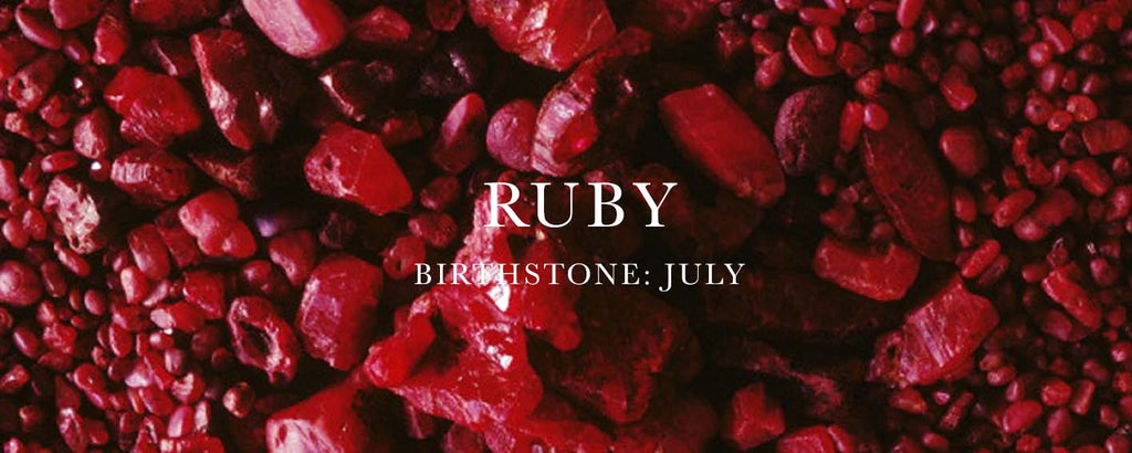 what is july birthstone, ruby birthstone, ruby jewellery,
