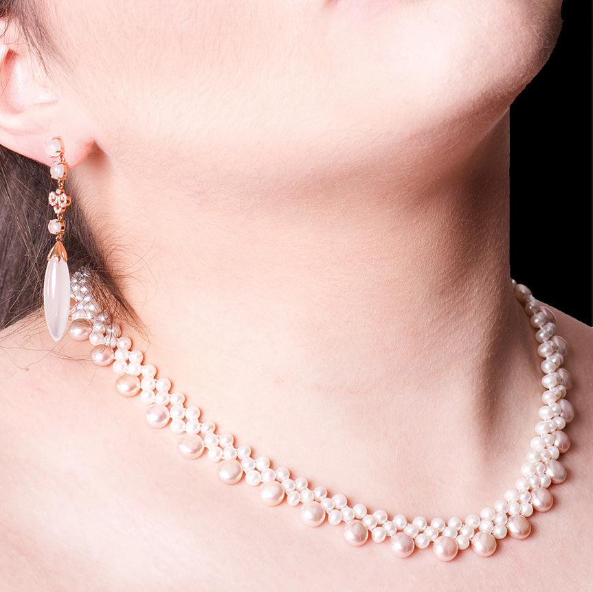 pearl jewellery at nouveau jewellers, independent jewellers in manchester