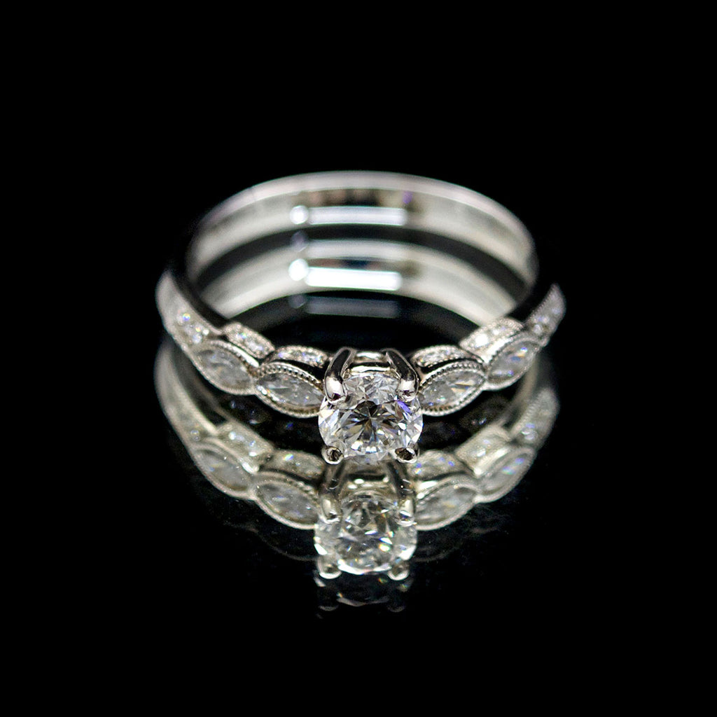 diamond engagement rings at nouveau jewellers manchester