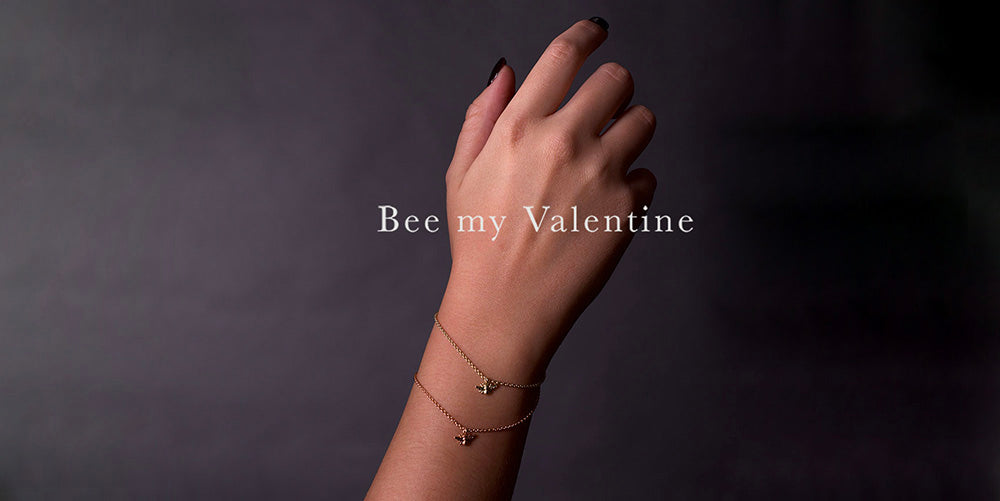 bee my valentines, valentines day jewellery, nouveau jewellers manchester, history of valentines day