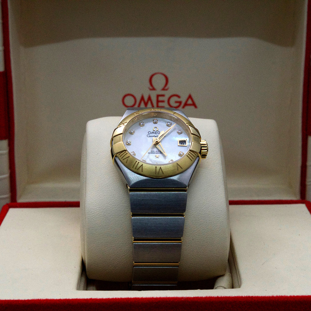 Ladies' Omega Watch, second hand watches, watches, ladies watches, nouveau jewellers, manchester jewellers