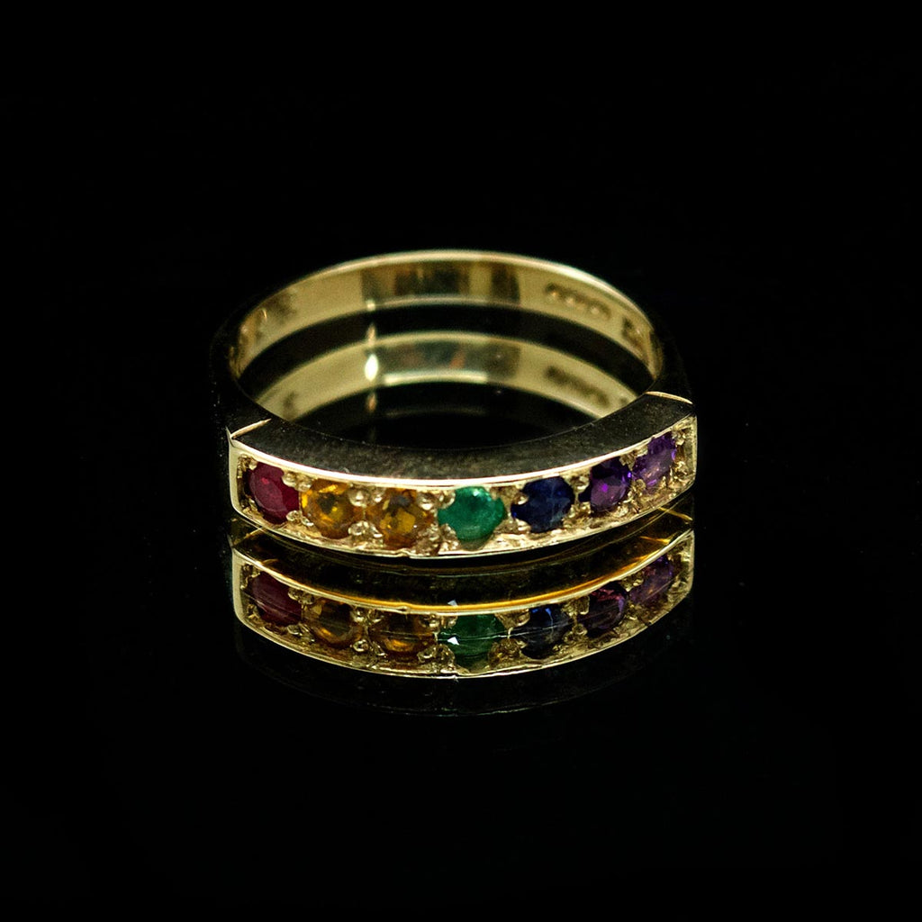 Pride ring, LGBT jewellery, Nouveau Jewellers, Pride manchester, LGBT Ring