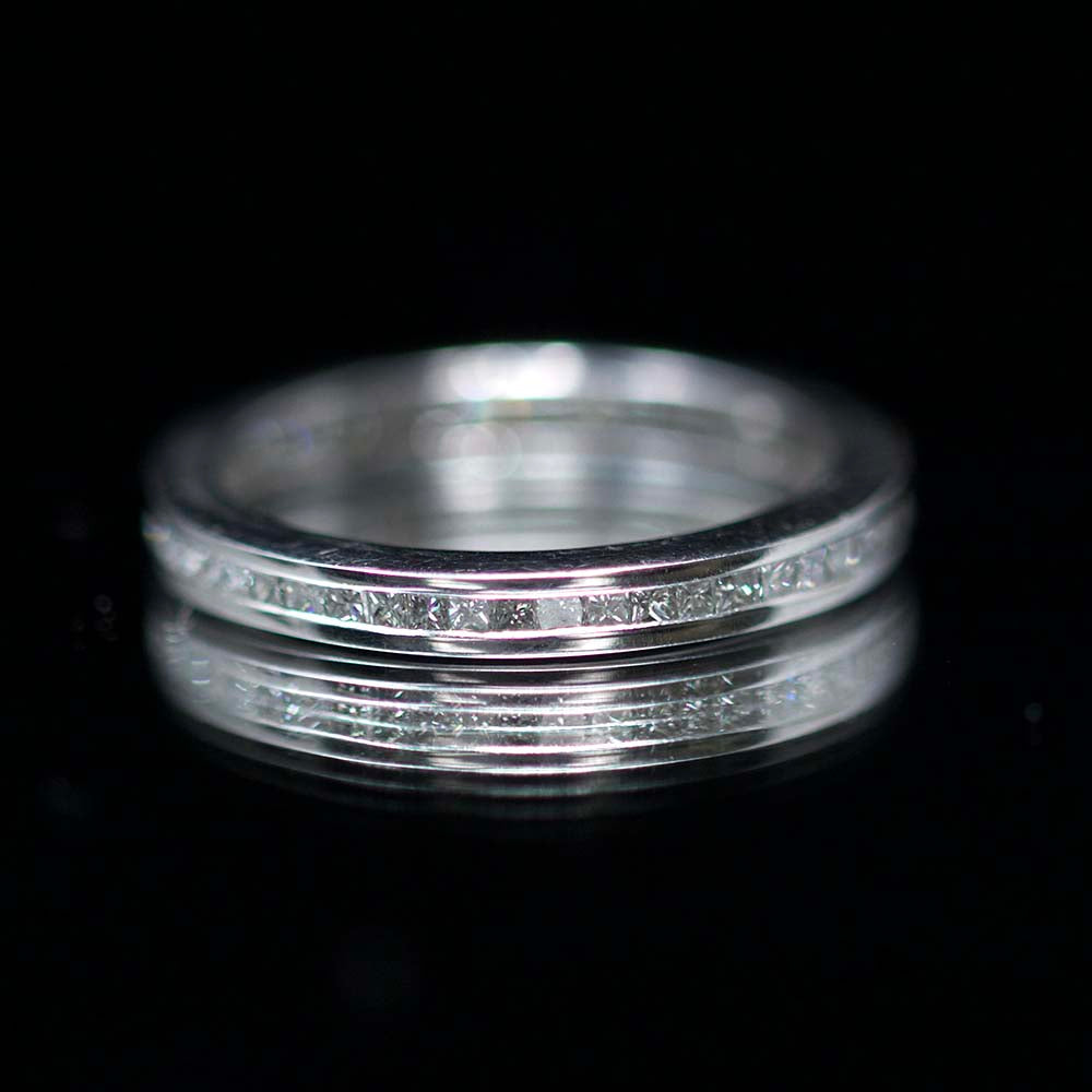 Eternity rings, nouveau jewellers, manchester jewellers, princess cut diamond ring, diamond wedding ring, promise ring