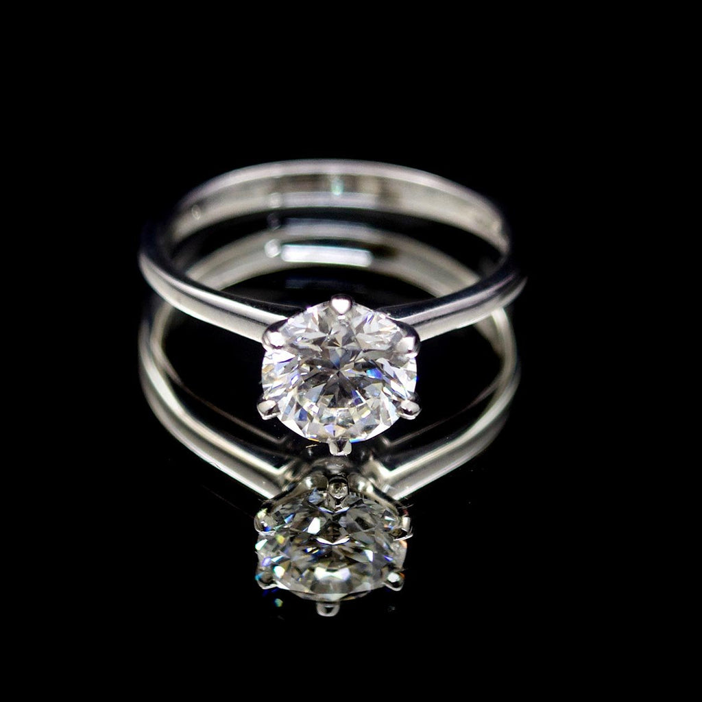 18ct Gold Duchess Solitaire Diamond Engagement Ring, sold at Nouveau Jewellers in Manchester