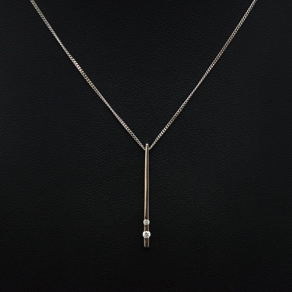 Nouveau Jewellers, white gold & diamond pendant necklace, diamond necklace, jewellers in manchester