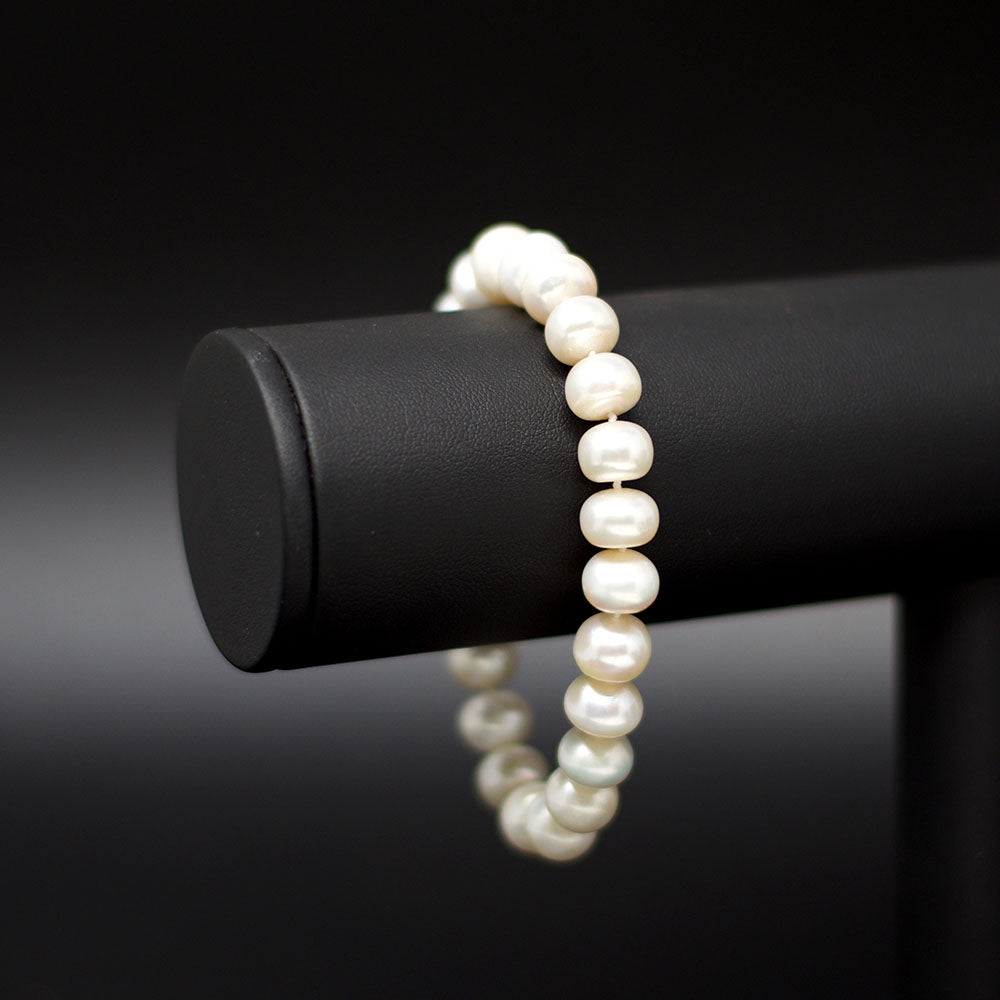 Nouveau Jewellers, Irregular Cultured Freshwater Pearl Bracelet, Manchester Jewellers