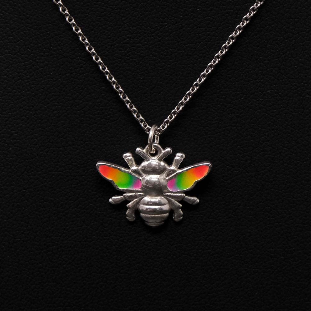 Nouveau jewellers, Pride Jewellery, Manchester Pride Bee Necklace, LGBT