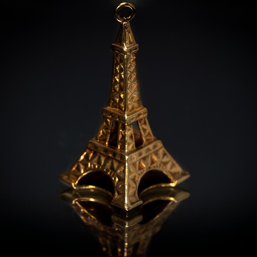 Nouveau Jewellers, Charms and charm bracelets, vintage charms, Paris Eiffel Tower Charm