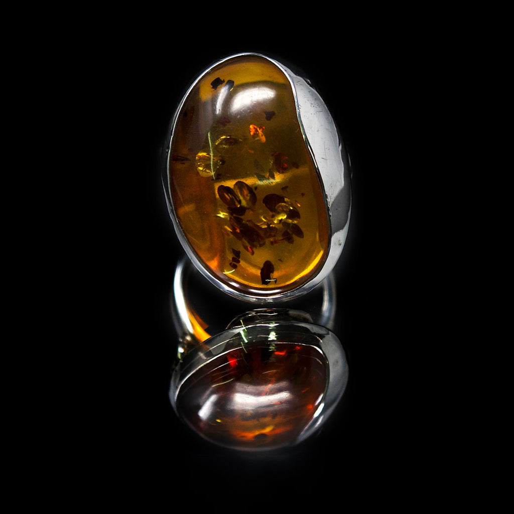 Amber Ring, 9ct gold ring, amber, amber jewellery, nouveau jewellers, nouveau manchester.jpg