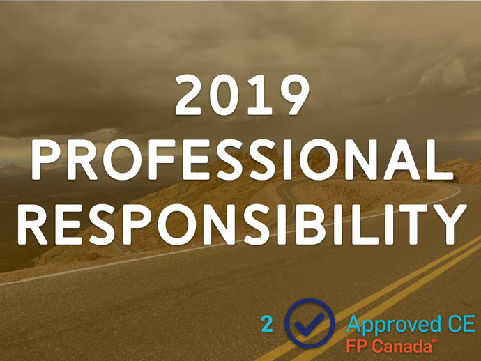 2019 Professional Responsibility