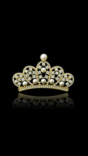BROSA ROYAL LITTLE CROWN - GOLDEN
