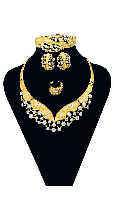 COLIER ROYAL OPULENCE - SET