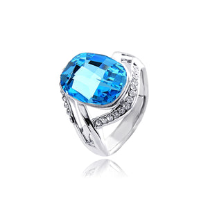 INEL BLUE CRYSTAL - SILVER