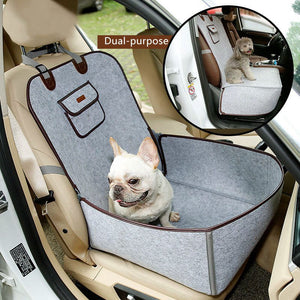 Waterproof Frenchie Car Seat Cover