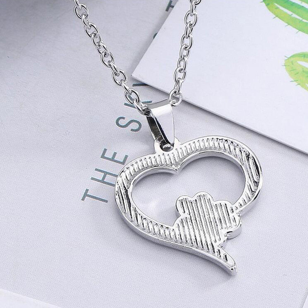 Love My Dog! Necklace Pendant