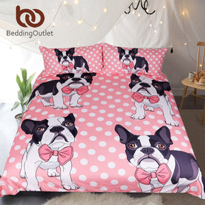 Frenchie Bedding Set