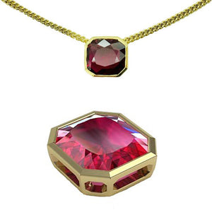 The Final Ruby Slider Pendant