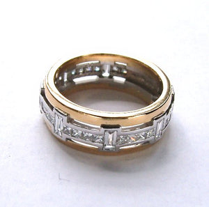 Havana Gold and Diamond Ring