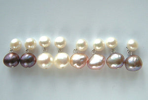 Twin Pearl Earrings