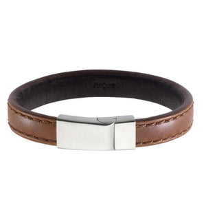 Leather Chunky Bracelet