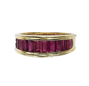 Ruby & 18 Carat Gold Ring