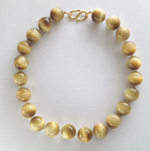 Golden Tigers Eye Necklace