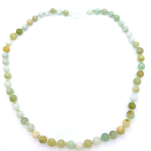 Jade Small Round Bead Necklace