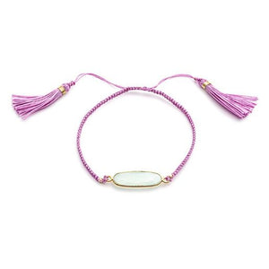 Gemstone Friendship Bracelet
