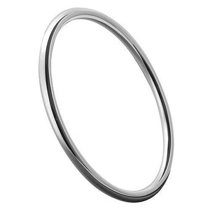 Sterling Silver 3mm Round Bangle