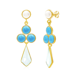 Rivoli Gemstone Earrings