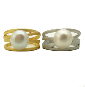 Pearl Banded Ring