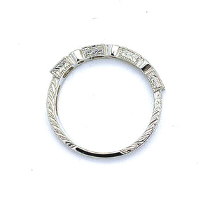 Diamond Oblong Eternity Ring