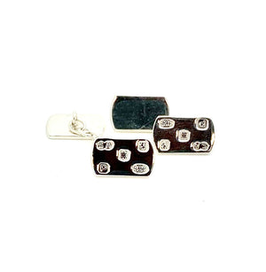Silver Hallmarked Cufflinks - Small